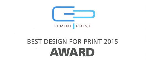 Gemini Print Award - WINNER