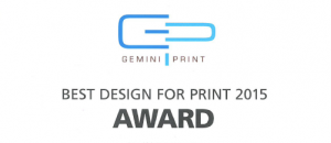 Gemini Print Award - WINNER